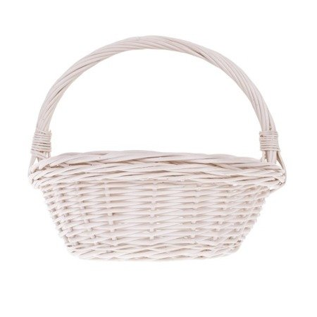 Whitewash gift wicker basket